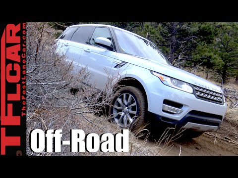 2016 Range Rover Sport Diesel Colorado Rocky Mountain Off-Road Review