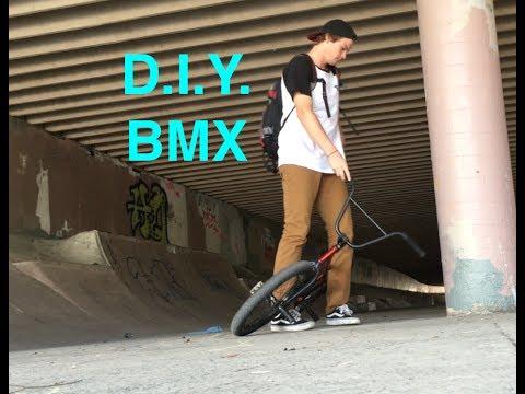 DIY SKATEPARK (don't watch it's a vlog)