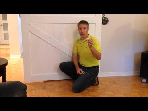 EZ Install Bottom Guide For Barn Doors And Sliding Doors