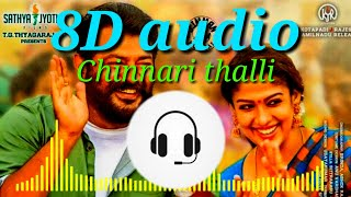 Chinnari thalli 8d song Telugu|8d song starts starts with start of video.