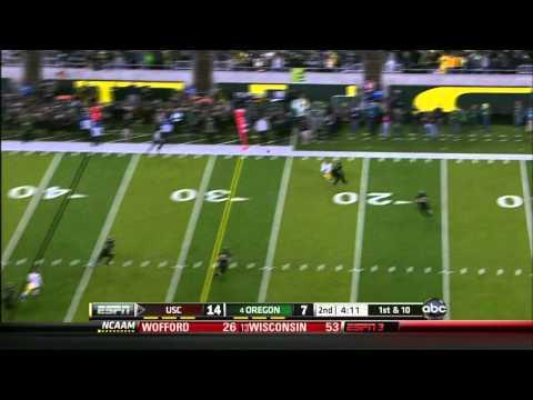 Matt Barkley vs Oregon 2011