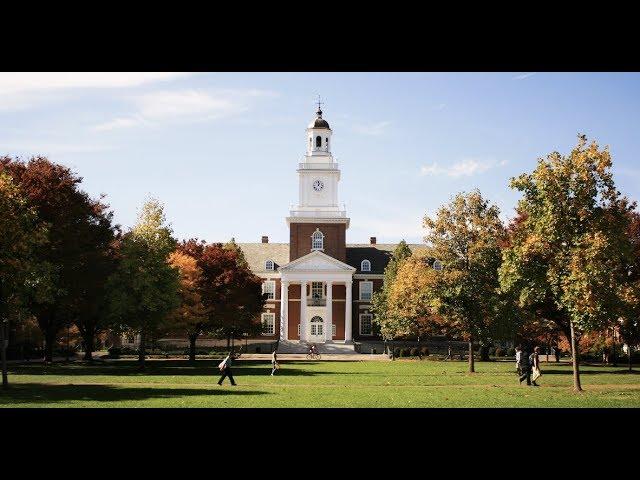 John Hopkins - First Generation Students