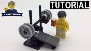 Lego Tutorial Weight Bench!