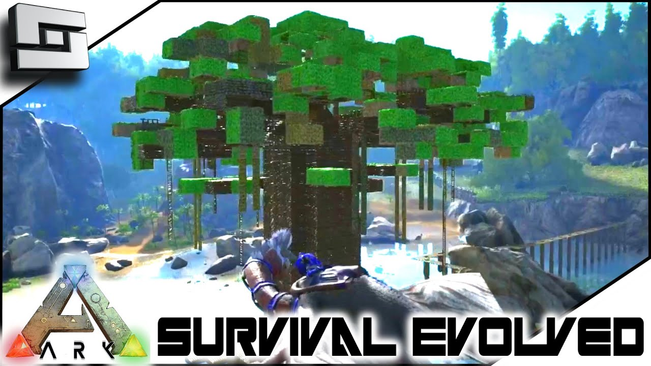Beautiful ARK: Survival Evolved   TREE PVP! S3E66 ( Gameplay )   YouTube