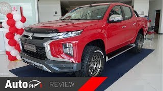 2019 Mitsubishi Strada GT and GLS - Exterior & Interior Review + Comparison (Philippines)