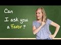 German Lesson (306) - Can I ask you a favor? - jemandem einen Gefallen tun - B1/B2