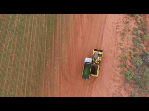Broome Drone Video. Shelamar Station, Trandos Farms