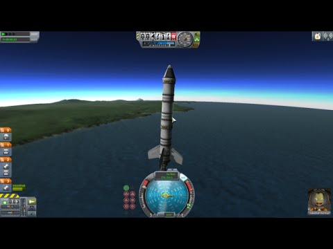Kerbal Space Program: Getting to Orbit with Early Game Parts