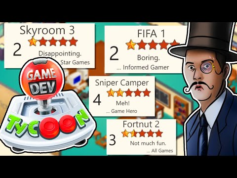 Making THE WORST GAMES - Game Dev Tycoon EA DLC Strat Is A Perfectly Balanced Game With No Exploits