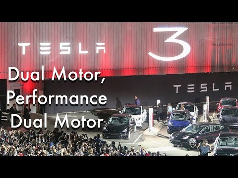 Tesla Model 3 Dual Motor, Performance Dual Motor: What We Know
