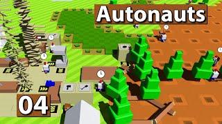 Autonauts | Eisenverarbeitung vorbereiten ► #4 ► Lets Play Roboter Simulator deutsch german
