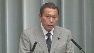 国家公安委員長に小此木八郎氏 第3次安倍第3次改造内閣