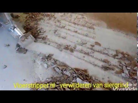 Uitzonderlijk Vloer verwijderen, egaliseren en vloerverwarming plaatsen AI03