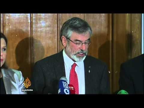Northern Ireland police release Gerry Adams