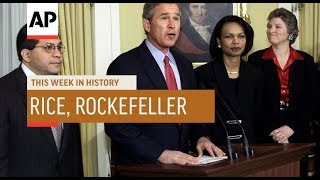 Rice Nominated, Rockefeller Sworn In | This Week In History | 16 Dec 19