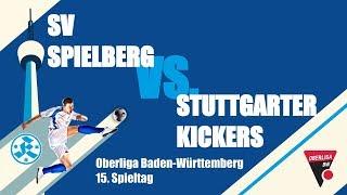 Oberliga BW, 15. Spieltag, SV Spielberg vs Stuttgarter Kickers - Spielbericht