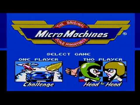 8-bit 80 Proof: Micro Macine Madness!
