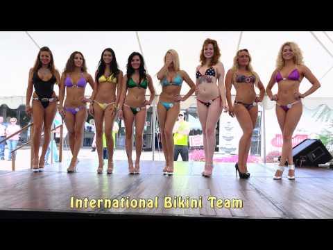 Bikini Contest at Hagerstown, MD Bike Show 2015 (shot in 4K)