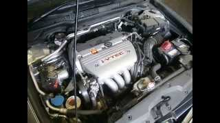 WRECKING 2005 HONDA ACCORD ENGINE 2.4 6 SPEED (J14514)