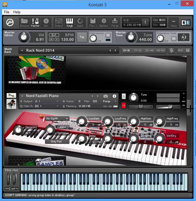Pianos Nord Stage 2 Kontakt 5 Download gratis