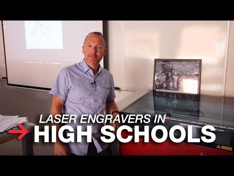 Laser Engraving in Schools | Laser Machines in High School | Speedy 360