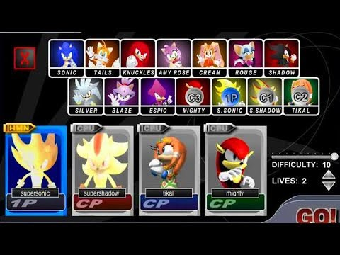 Sonic Smash Brothers BETA...