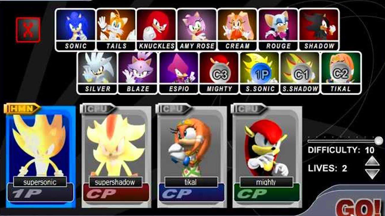 Sonic Smash Brothers BETA...