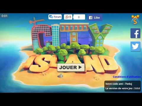 Let's play (fr) City Island #1 : Une île paradisiaque... ou pas