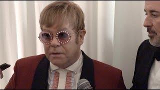 Elton John, Greta Van Fleet AIDS Foundation Academy Awards Interviews