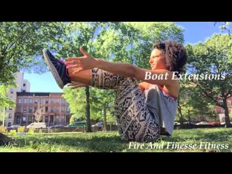 hip opening core workout yoga bound angle butterfly