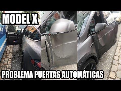 Puertas automáticas TESLA Model X: ¿prácticas o peligrosas?