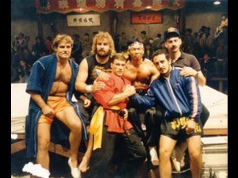 Кровавый спорт. Blodsport. Фото со сьемок фильма.