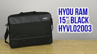 Розпакування HYou Ram 15'' Black HYVL02003