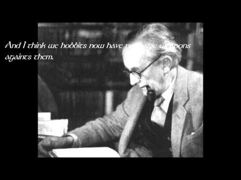 J.R.R. Tolkien. Lost Recording.