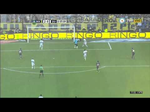 Gol de Calleri (2-0) / Boca Juniors 2 - 1 Quilmes - Fecha 17 Torneo Argentino 2015
