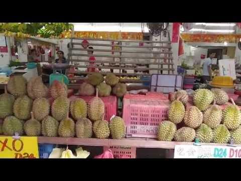 Durian Durian!  @ Chong Pang Singapore Full HD