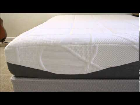 perfect cloud elegance gelpro 12 inch memory foam mattress queen size - Queen Size Memory Foam Mattress