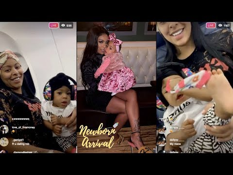 Fetty Wap & Alexis Skyy Daughter Alaiya Gets Real Comfortable On Flight!