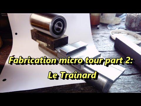 Fabrication Micro tour part2: Le traînard
