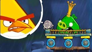 Angry Birds 2 #3 приключение мультик героев Bad Piggies и энгри бердс #КРУТИЛКИНЫ