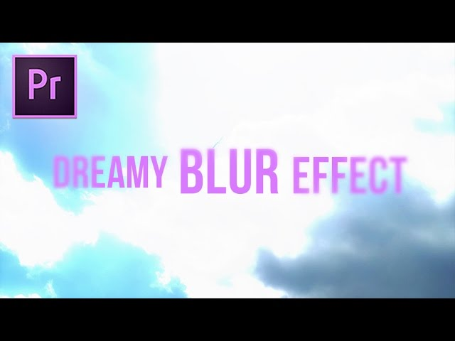 GLOWING Dodge & Blur Transition Effect (Adobe Premiere Pro CC 2017 Tutorial)