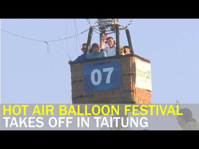 International hot air balloon festival takes off despite pandemic   Taiwan News   RTI