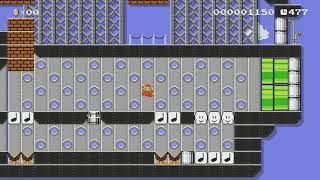 Jeff's Fun Big or Small Battle? by Jeff - Super Mario Maker - No Commentary