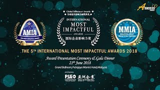 International Most Impactful Awards 2018 Award Recipient Interview & Sharing Video