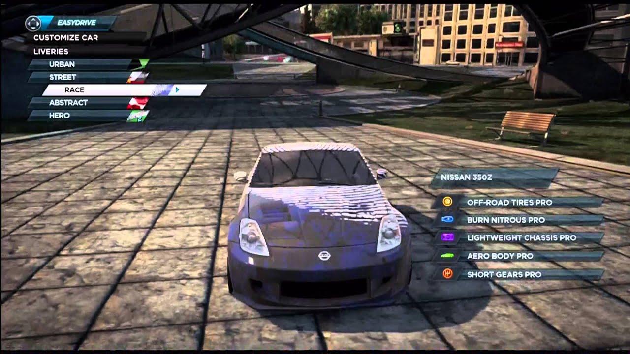 Need For Speed Most Wanted 2012 Nissan 350z Liveries