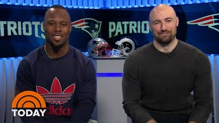 Patriots' James White And Rex Burkhead On Road To Super Bowl LIII | TODAY Video