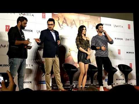 Raabta | Trailer Launch | Sushant Singh Rajput | Kriti Sanon | Dinesh Vijan | TSeries |