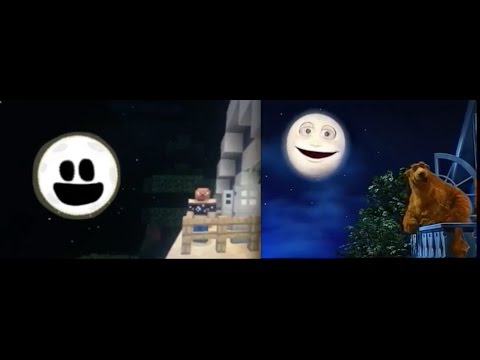 Bear in the Big Blue House: The Goodbye Song (Original vs. Minecraft)