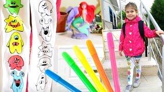 Игры для девочек: Играем с Элис. КОЛГОТКИ-РАСКРАСКА. Видео для девочек