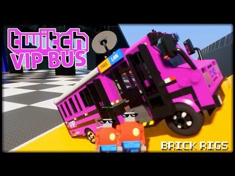 Twitch VIP Bus explodiert!  BrickRigs  Let´s Play Brick Rigs Deutsch  German  Lego